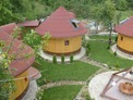 Unique wooden round eco-house situated in a holiday village built near the town of Troyan!