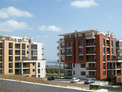 Town apartments with scenic views of Burgas Bay